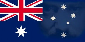 Australian Flag with Big Brother