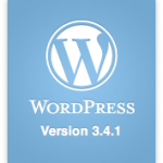 Wordpress 3.4.1 logo